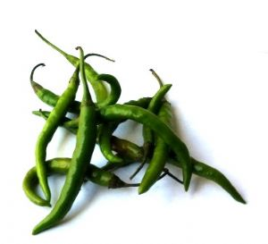 Fresh Green Chillies | Buy Online at the Asian Cookshop